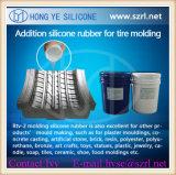 Moule de pneu faisant le caoutchouc de silicone