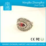Klassieke Retro Ring 925 van de Manier Echte Zilveren Juwelen