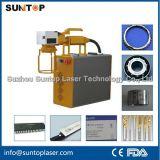 Máquina de gravura à mão do laser para a grande marcação dos componentes da maquinaria
