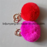 装飾のための最上質の普及した実質のウサギの毛皮の球
