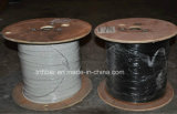PVC JacketとのデュプレックスSingelmode Armoured Fiber Cable