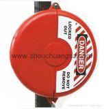 Plástico de Du Pont Enginering para o cadeado padrão novo da segurança do fechamento da válvula de porta