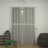 Tenda di finestra tinta filato grigio popolare di restringimento del poliestere di colore