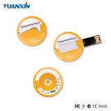 Impulsión plástica del USB de la aduana del USB de la impulsión de la tarjeta de crédito del flash