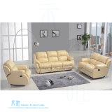 Sofá de couro moderno do Recliner ajustado para o teatro Home (HW-8996S)