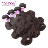Cabelo dos Peruvian da cor #2 da extensão do cabelo humano de qualidade superior