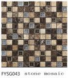 建築材料の混合されたカラー自然な大理石の石造りのモザイク床のタイル(FYSSC225)