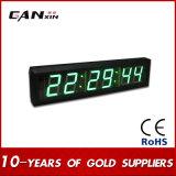 [Ganxin] visualización de LED montada en la pared del reloj del número de 6digit 7segment LED