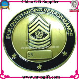 moeda do metal 3D para o uso da polícia