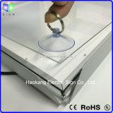 Lichte Doos van het Frame van de Klem van het Frame van het aluminium de Onverwachte met Licht Teken voor Reclame