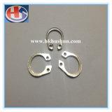 Cartão de aço do eixo da mola do material GB894.1-86 do manganês (HS-ST-040)
