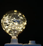 Ampoule étoilée colorée G95-25LED de DEL pour la décoration