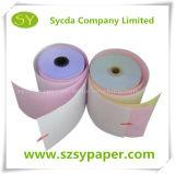 Papier-copie sans carbone de caisse comptable