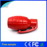 USB plástico vendedor caliente de la impulsión del flash del USB de la granada