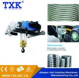 Grue électrique de câble métallique de 1 tonne