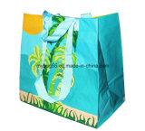 Sacchetto di acquisto tessuto pp promozionale con la maniglia (my07251)