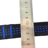 3m*5cm starke Brücke-Verband-Riemen-Hängematten-Baum-Brücken, die hängendes Brücke-Seil mit Haken binden