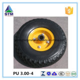 Hersteller Highquality 3.00-4 260X85 PU Foam Solid Wheel