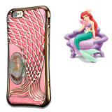Samsung & iPhone를 위한 쉘 Quicksand Mermaid Phone Case