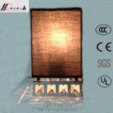 高品質の水晶部分が付いている正方形の壁ランプ