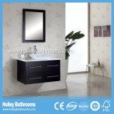 Alto brillo de espacio de almacenamiento de pintura Grandes doble lavabo muebles de baño (BF115D)