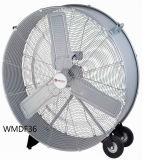 36 duim - de Ventilator van de Vloer van de Ventilator van de Trommel van de Aandrijving van de Riem van de hoge Snelheid voor Garage/Industrieel/Commercieel