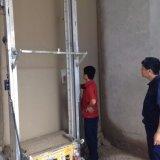 بناء آليّة جدار لصوق خلّاط آلة