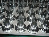 Steel inoxidável Flange Finished com CNC Machining