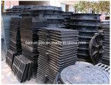 Tampa e frame redondos de câmara de visita do ferro de carcaça En124 para a exportação