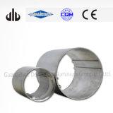 Pipa de aluminio revestida del polvo negro, tubo de aluminio