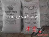 Éclaille de bicarbonate de soude caustique dans des éclailles d'hydroxyde de sodium en vrac du sac 25kg