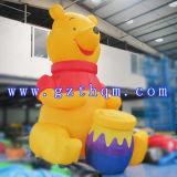 Ours de nounours gonflable en annonçant Inflatables/ours de publicité géant gonflable