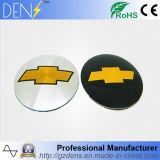 Peças de automóvel para o cromo de Chevrolet Chevy com etiqueta do tampão do centro de roda do carro do logotipo do carro