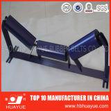品質の確実なゴム製コンベヤーSustemベルト付けのローラーのアイドラーHuayueの直径89-159mm中国の有名な商標