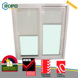 Австралийское стекло шторок окна стандарта UPVC/Pvcu пластичное внутреннее