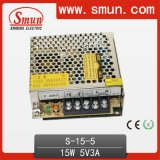 15W 5V 3A Switching Power Supply AC-DC Single Output S-15-5
