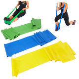 Stretching Yoga Pilates를 위한 Top Quality 5개 피트 Flat Resistance Exercise Band