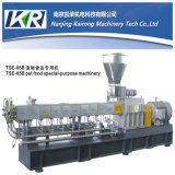 PE LDPE 쌍둥이 나사 플라스틱 압출기 과립 기계