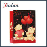 Saint Valentin Lovely Bear Fashion Shopping Portrier Gift Paper Bag