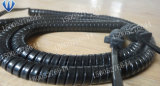 Boa elasticidade e cabo espiral flexível do cabo Coiled