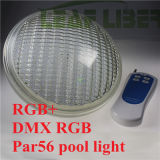 세륨 FCC&RoHS를 가진 18W RGB Stainless Steel LED Swimming Pool Pond PAR56 Lights AC12-24V IP68