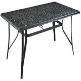 현대 디자인 고품질 옥외 가구 당을 식사해 가족을%s 알루미늄 정원 테이블