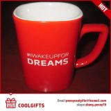 Taza de café de cerámica esmaltada diversión para el regalo de la Navidad