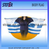 Cabo diferente da bandeira do corpo do país para eventos do ventilador de esportes