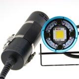 Hoozhu Hv63 2in1five Farben-Licht-Doppelt-Schalter-Tauchen videoLight+Diving helles Max1, 2000lm Watrproof 100-200m LED Fackeln für Tauchen