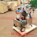 Doble vaca de ordeño móvil Máquina Hl-Jn02
