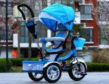 Spaziergänger-drehendes Dreiradlaufkatze-Baby-Kind-Fahrrad