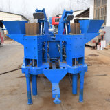 Doppelhydraulischer Lehm-Block der form-M7mi, der Maschine bildet