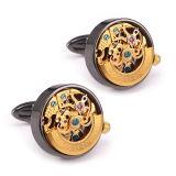 Alta qualità Stainless Steel Watch Movement Cufflinks per Men Wm-1211A