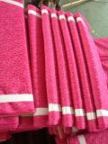 Tela colorida vendedora caliente del cordón del poliester